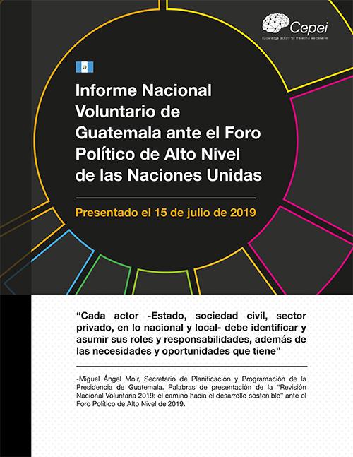 Análisis de seguimiento al Informe Nacional Voluntario de Guatemala en el HLPF 2019