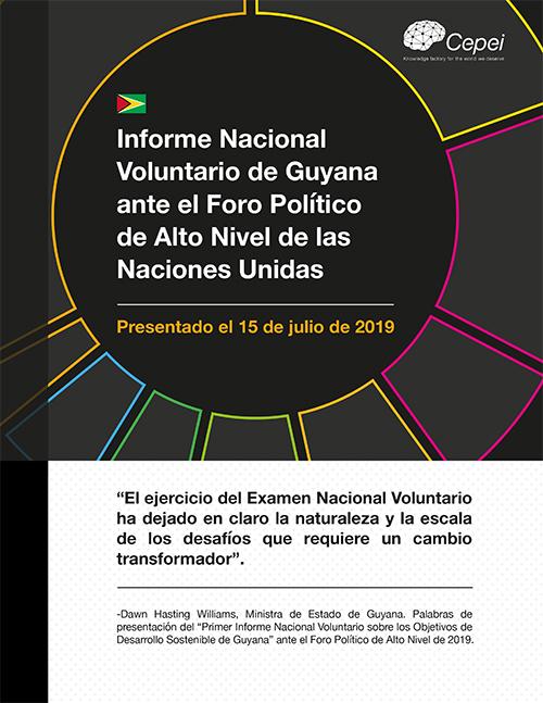 Análisis de seguimiento al Informe Nacional Voluntario de Guyana en el HLPF 2019