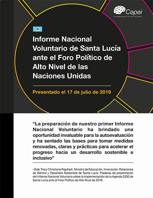 Análisis de seguimiento del Informe Nacional Voluntario de Santa Lucía en el HLPF 2019